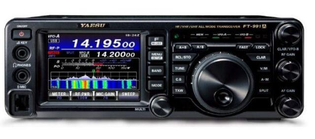 "Yaesu FT-991A HF/50/140/430MHz 100W All-Mode ""Field Gear"" Transceiver"