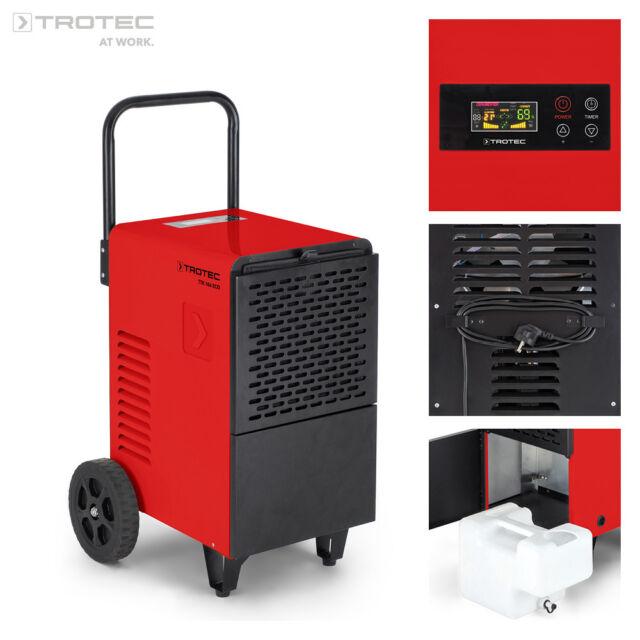 TROTEC Déshumidificateur d'air professionnel TTK 166 ECO   Mobile   Humidité