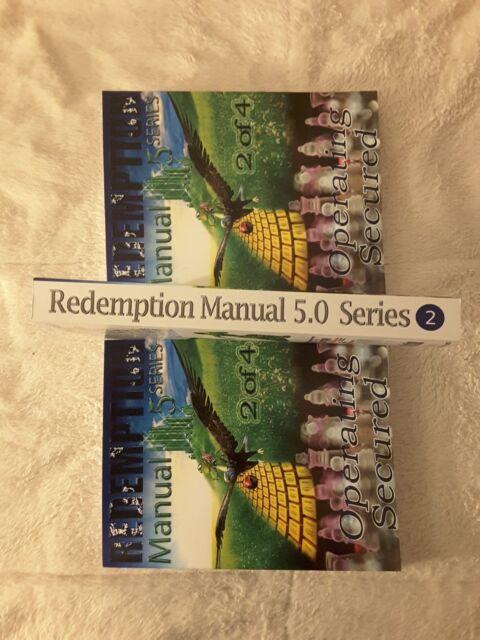 REDEMPTION MANUAL 5 0 EPUB