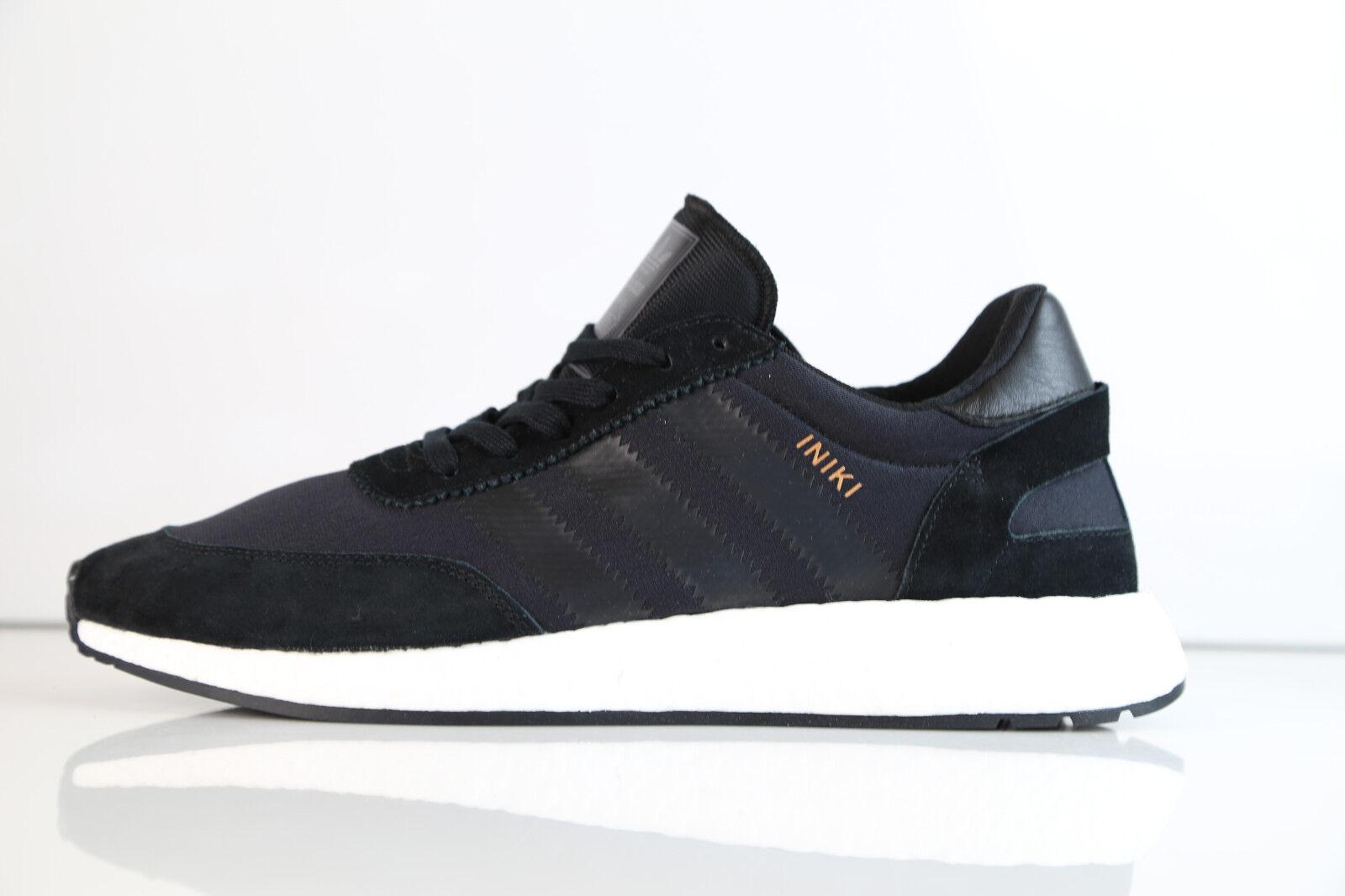 Adidas Boost Iniki Runner Black BB2100 8-12 ultra suede originals stan