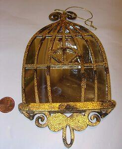 image is loading antique gold silver mirror birdcage bird cage decor