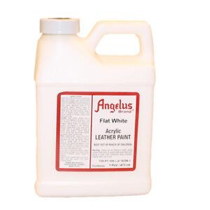 Angelus lederfarbe Matt Weiß 472 ml (105) Acryl Lederfarbe (63,45 €/1L)