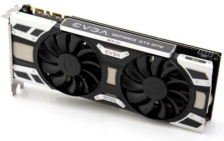 GTX 1070 EVGA, 8 GB RAM, God