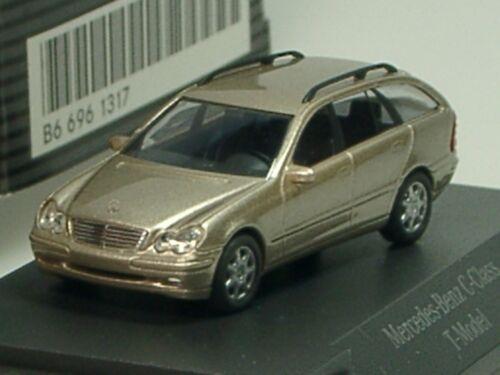 dealer model cubanit PC 1317-1:87 Busch Mercedes C-Klasse T-Modell