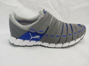 Puma-Osu-NM-No-Lace-Sneaker-Mens-Size-7-Grey-185685-29