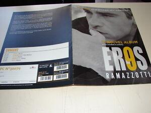 Eros-Ramazzotti-039-9-039-Rare-French-Press-Kit