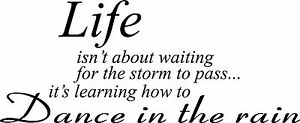 Life-isn-039-t-about-waiting-Storm-wall-decal-quote-sticker-Inspiration-Decor-vinyl