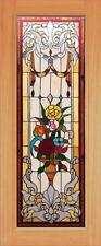 BEAUTIFUL STAINED GLASS CUSTOM ENTRY OR INTERIOR DOOR - JHL165