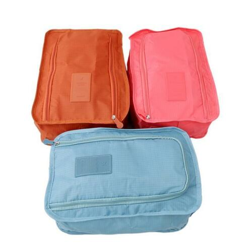 Portable Waterproof Travel Outdoor Organiser Tote Shoes Zip Pouch Storage Bag Q
