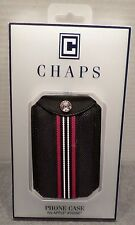 """New CHAPS Phone Case Fits Apple iPhone 3"""" x 5"""" Blue Gift Idea Stocking Stuffer"""