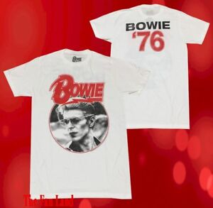 New-David-Bowie-1976-Tour-Concert-Vintage-Retro-Mens-T-Shirt