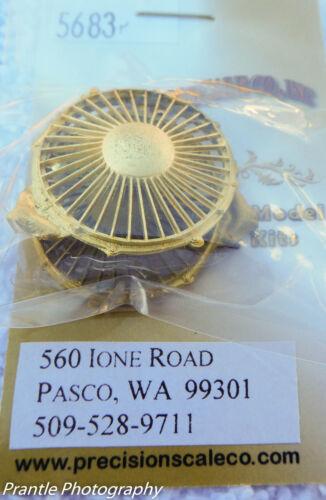 "pkg 2 50/"" dia Precision Scale O #5683 Housing w// grille Air Intake Fan"