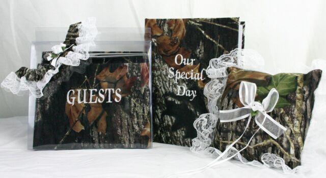 Bridal Garter Set Camouflage Camo MOSSY OAK BREAK UP