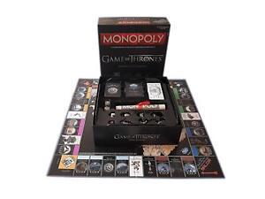 Juego de Tronos Monopoly Edición Coleccionista Versión en Español Juego de Mesa