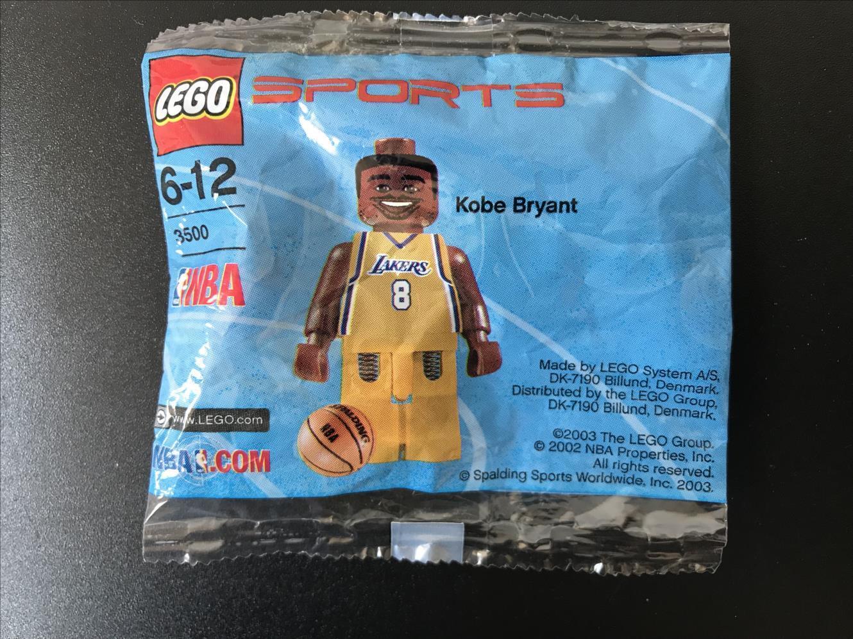 LEGO DEPORTES NBA BALONCESTO KOBE BRYANT 3500 4199021 SELLADO FIGURA MINI