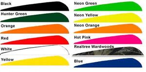 """Bohning 4"""" Killer Vanes Neon Orange 100 Pack"""