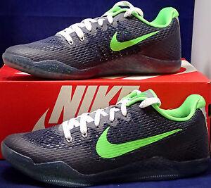 1dea7e5a0a04 Nike Kobe XI 11 Mamba Day QS iD Seattle Seahawks Blue Green SZ 9.5 ...