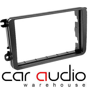 Black Autoleads DFP-06-06 Car Audio Double DIN Facia Adaptor