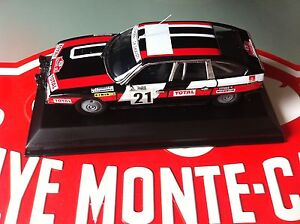 Decal Calca 1 43 CITROEN CX N° 21 Rally WRC MONTE CARLO 1979 MONTECARLO