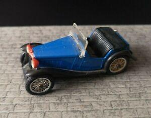 60s-SPOT-ON-Triang-1935-MG-P-B-MIDGET-279-Blue-Diecast-Model-Car-1-42-Vintage