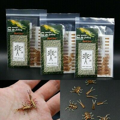 Stonefly Nymph Rubber Body Hooks Combo Synthetic Tying Artific Fly Fishing 30pcs