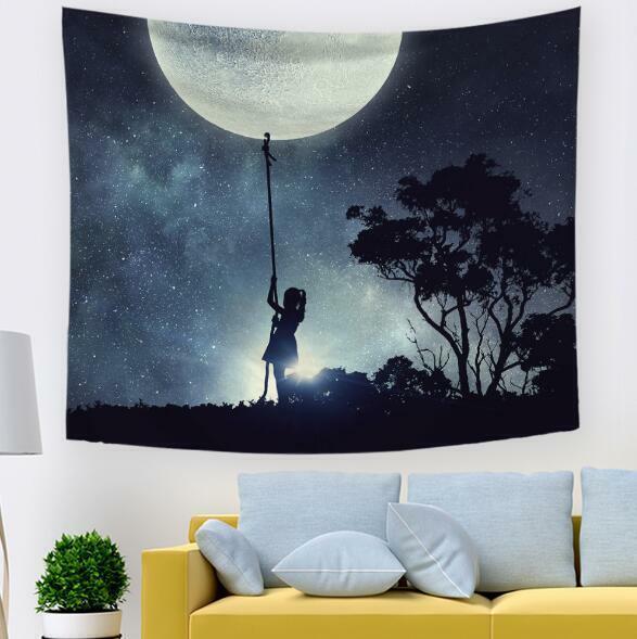 3D Sternenhimmel M613 Tapisserie Hängendes Tuch Hängen Wallpaper Wandbild Amy