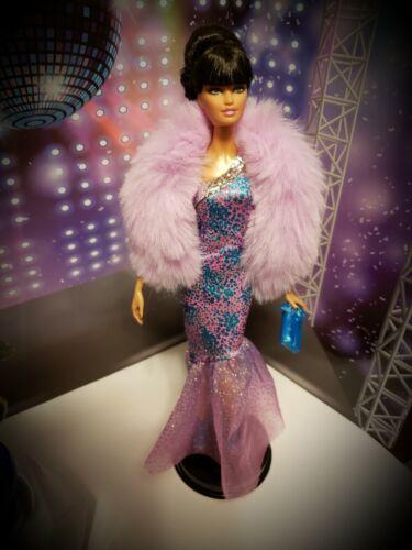 Faux Fur Boa Wrap  Barbie Look Model Muse Fashionistas Fashion Fever Royalty etc
