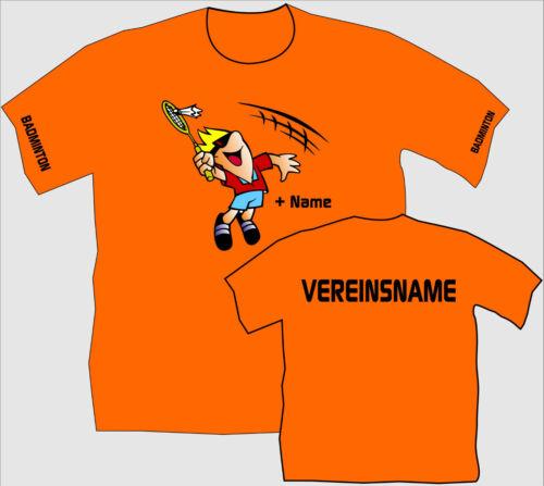 Federball Shirt Badminton T-Shirt Wettkampf Kultshirt Kindershirt Kultshirt 12