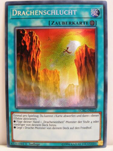 LCKC Legendary Collection Kaiba #072 Drachenschlucht Yugioh