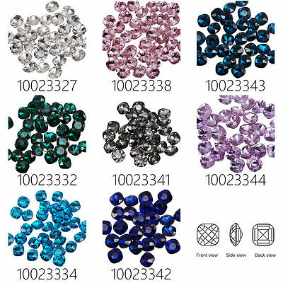 12mm 20pcs Square Cabochon Cushion Cut Fancy Crystal Stone For 4461 jewelry