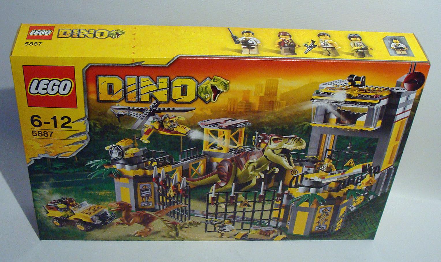 Lego® Dino 5887 - Dinosaurier Forschungsstation 793 Teile 6-12 Jahren - Neu
