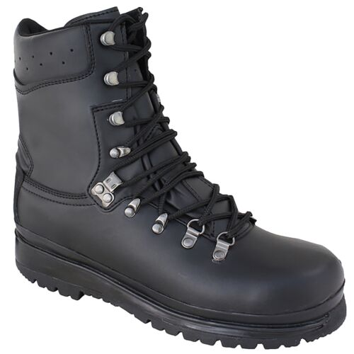 Waterproof Mens Black Stivali Leather Tactical Footwear Elite Forces Highlander XCnwYqxBF8