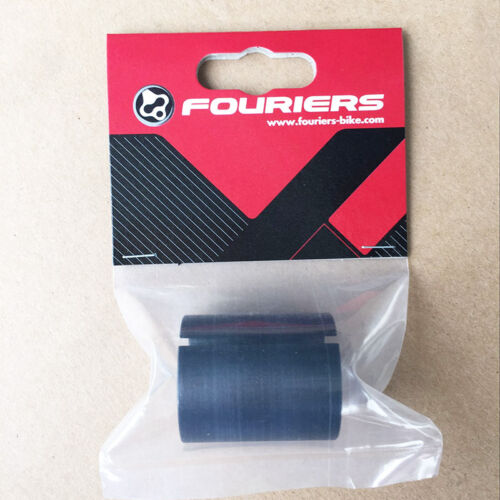 """Fouriers Alloy Fork Shim 1 1//4/"""" to 1 1//8/"""" Steerer Tube Adapter Stem Reduction"""