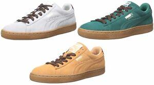 PUMA-Homme-En-Daim-Classique-Casual-Sneaker