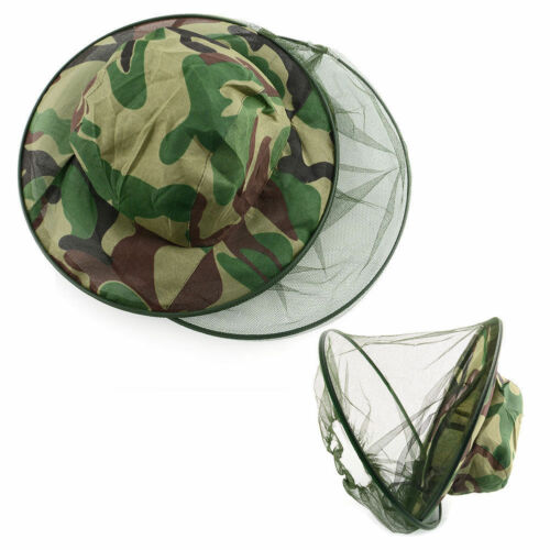 Sun Walking Hiking Wasps Bees etc UK StocK Camping Insects Protective  Hat