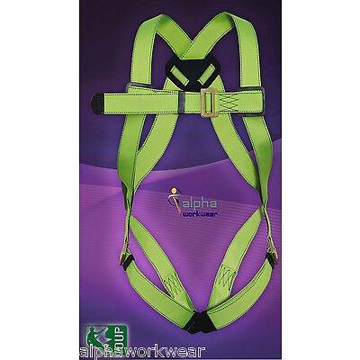 Work at Height Fall Arrest Safety Harness, Rope, Lanyards With Double Carabiners