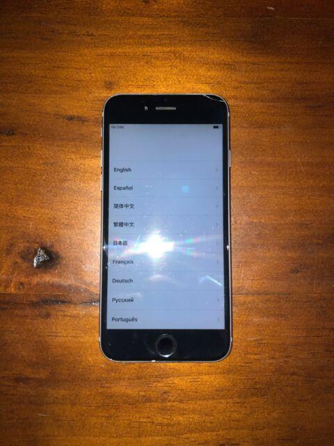 Apple iPhone 6 - 64GB - Silver (Unlocked) A1549 (GSM) (CA ...