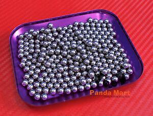 "QTY 200 [7.144mm 9/32""] Loose Bearing Ball Hardened Carbon Steel Bearings Balls"