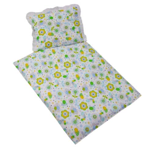 * Couverture 2 pcs set référence pour lit bébé baby salon voiture linge de lit Coussin *