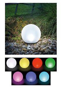 20 & 30 cm Led Boule Solaire Lampe Lumineuse Jardin Luminaire Neuf ...