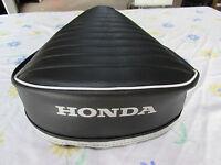 Honda Ct90 Ct110 1972-1986 Replacement Seat Cover White Honda Logo(58)