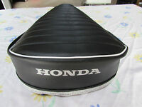 Honda Ct90 Ct110 1972-1986 Replacement Seat Cover White Honda Logo(58)