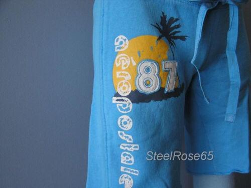 NEW Aeropostale Junior Girls Blue Lounge Sweat Shorts XS X-Small