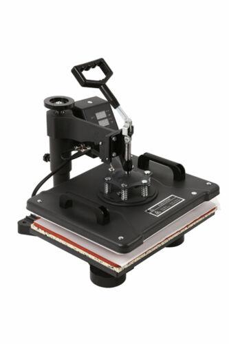 8IN1 38x38cm Transferpresse T-Shirtpresse Textildruck Heißpresse Hitzepresse Gut