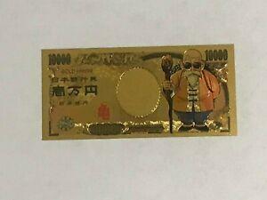 Master-Roshi-Dragon-Ball-Z-Gold-Money-Card