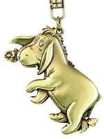 Disney Eeyore Brass Key Ring, New, Free Shipping