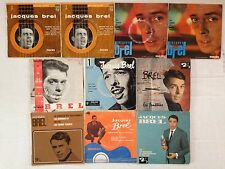LOT DISQUE 45T SPECIAL JACQUES BREL