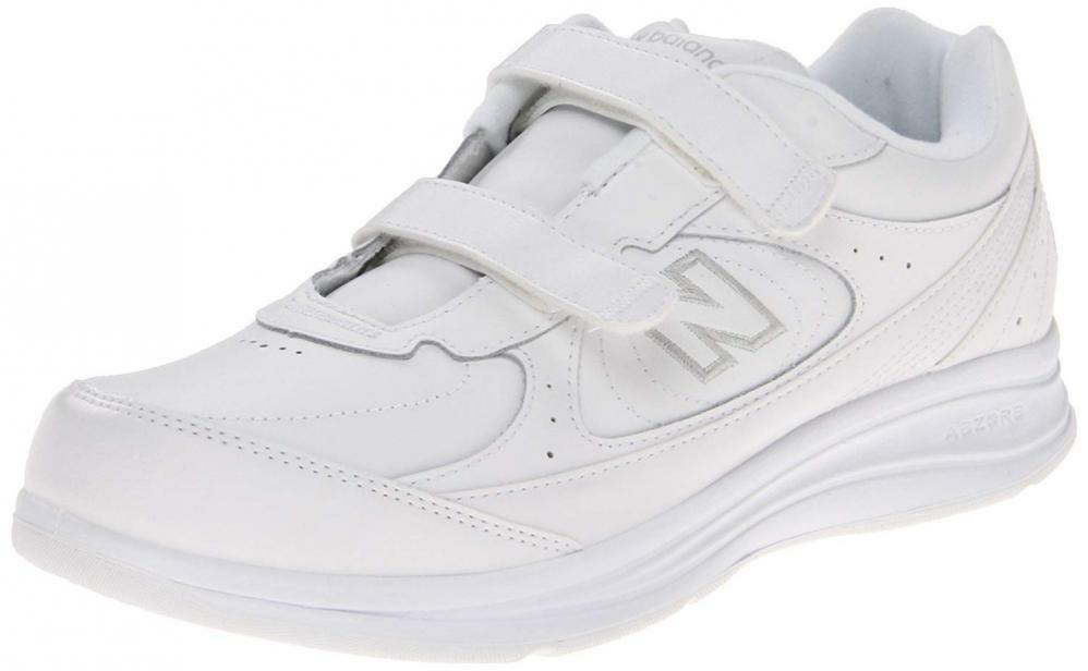 New Balance Wouomo WW577 Hook Loop Walking scarpe Comfort Leather Casual