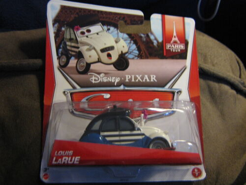 DISNEY PIXAR CARS 2 PARIS TOUR SERIES LOUIS LaRUE