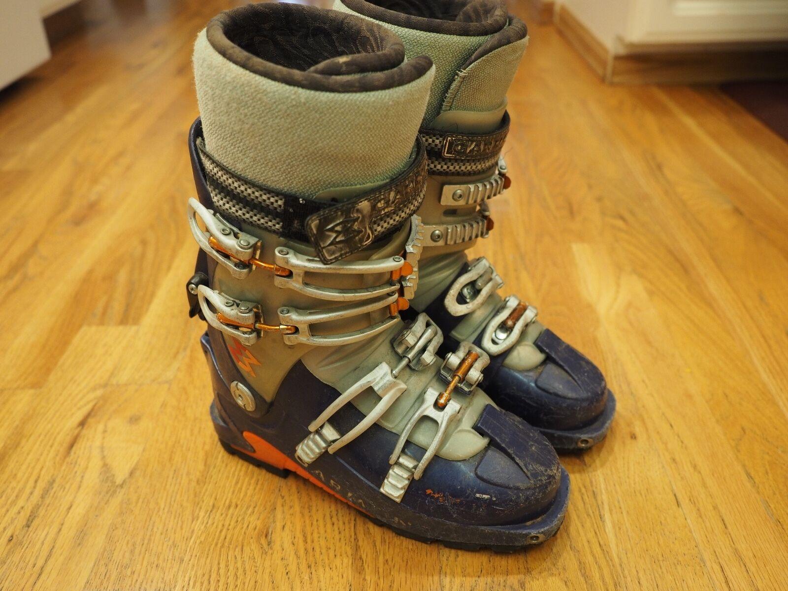GARMONT MEGARIDE ALPINE TOURING SKI BOOTS, G-Ride 280MM Mens 6.0